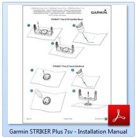 Garmin STRIKER Plus 7sv - Installation Manual