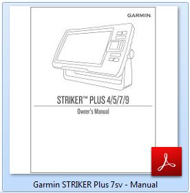 Garmin STRIKER Plus 7sv - Manual
