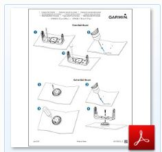 Garmin Striker 5cv - Installation Manual