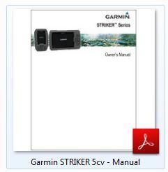 Garmin Striker 5cv - Manual