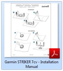 Garmin Striker 7cv - Installation Manual