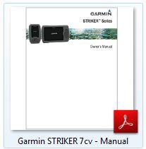 Garmin Striker 7cv - Manual