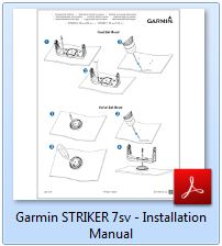 Garmin Striker 7sv - Installation Manual