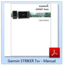 Garmin Striker 7sv - Manual