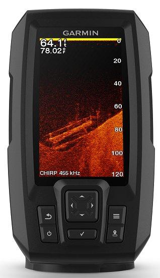 Garmin Striker Plus 4cv - CHIRP ClearVü scanning sonar