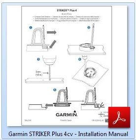 Garmin Striker Plus 4cv - Installation Manual