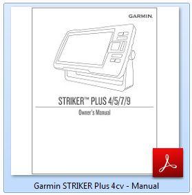 Garmin Striker Plus 4cv - Manual