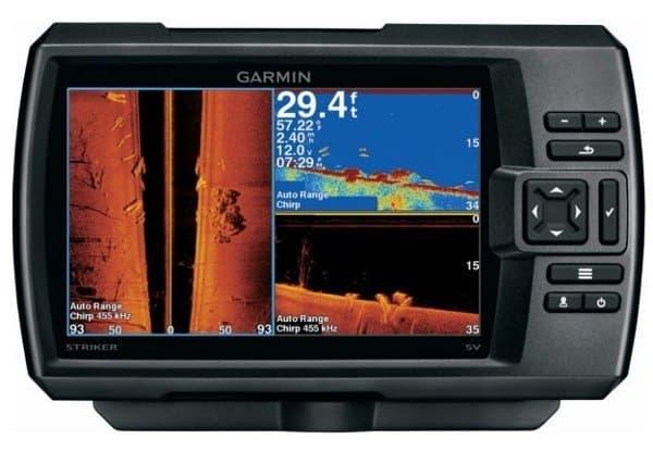 Garmin Striker Plus 7sv Fishfinder Screen