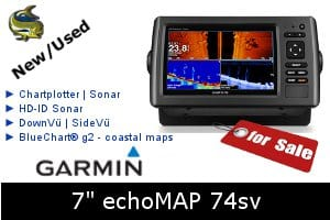 Garmin echoMAP 74sv - For Sale