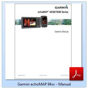 Garmin echoMAP 94sv - Manual