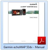 Garmin echoMAP 53dv - Manual