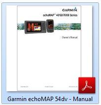 Garmin echoMap 54dv - Manual