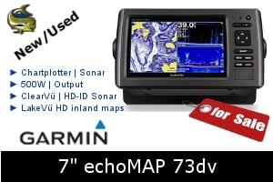 Garmin echoMap 73dv For Sale