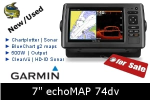Garmin echoMap 74dv For Sale