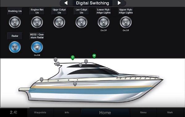 Garmin 8610xsv - Digital Switching