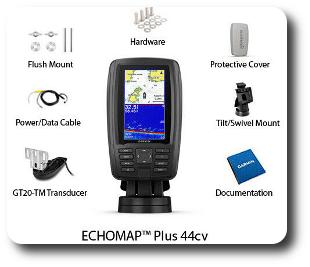 Garmin ECHOMAP Plus 44cv - For Sale