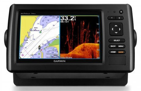 Garmin ECHOMAP Plus 63cv - Lakevu g3