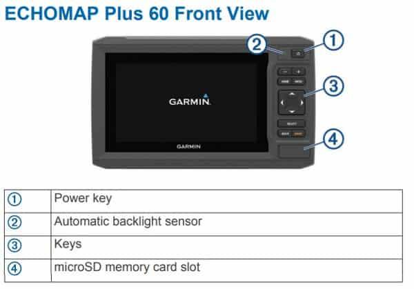 Garmin ECHOMAP Plus 64cv - TouchPad Control