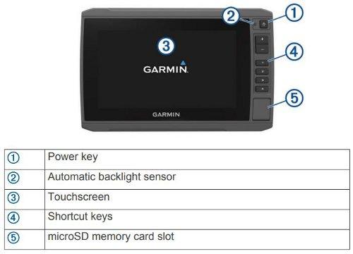 Garmin ECHOMAP Plus 73cv - Key Assist Touchscreen