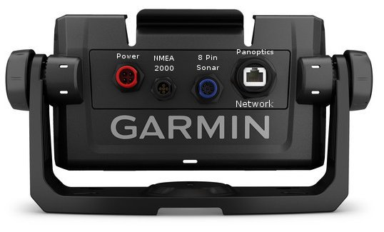 Garmin ECHOMAP Plus 73cv - Rear Connections