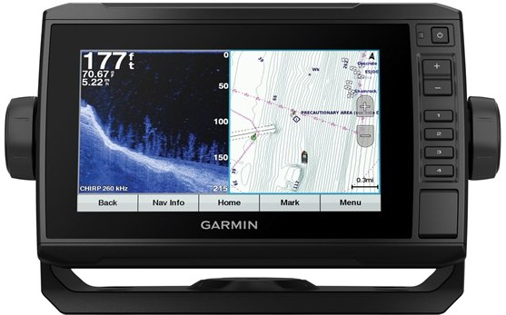 Garmin ECHOMAP Plus 74cv - Bluechart g3