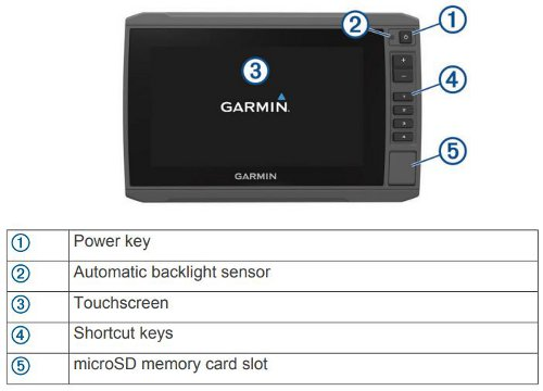 Garmin ECHOMAP Plus 74cv - Key Assist Touchscreen