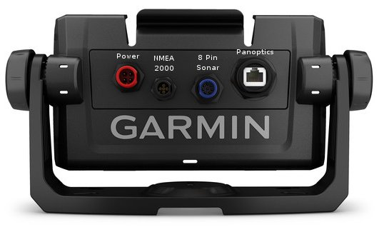 Garmin ECHOMAP Plus 74cv - Rear Connections