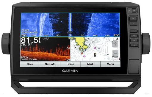 Garmin ECHOMAP Plus 93sv - LakeVu g3 maps