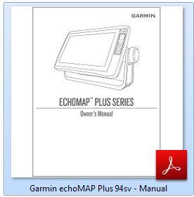 Garmin ECHOMAP Plus 94sv - Manual