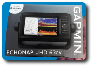 Garmin ECHOMAP UHD 63cv - For Sale