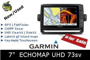 Garmin ECHOMAP UHD 73sv - For Sale