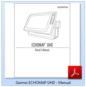Garmin ECHOMAP UHD 73sv - Manual