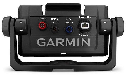 Garmin ECHOMAP UHD 74cv - Rear Connections