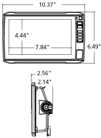 Garmin ECHOMAP UHD 94sv - Dimensions