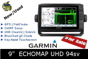 Garmin ECHOMAP UHD 94sv - For Sale