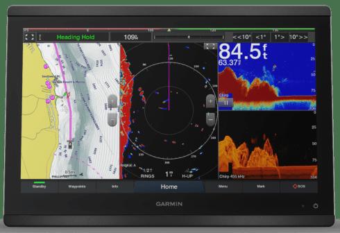 Garmin GPSMAP 8616xsv - HD IPS Touchscreen