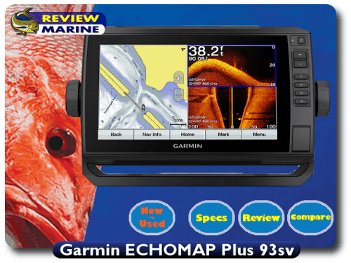 Garmin ECHOMAP Plus 93sv