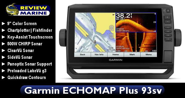 Garmin ECHOMAP Plus 93sv - Review