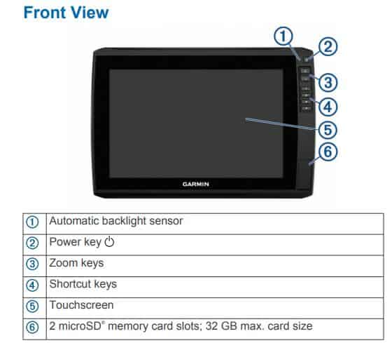 Garmin ECHOMAP Ultra 102sv - Screen Control