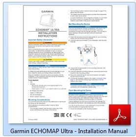 Garmin ECHOMAP Ultra 122sv - Installation Manual