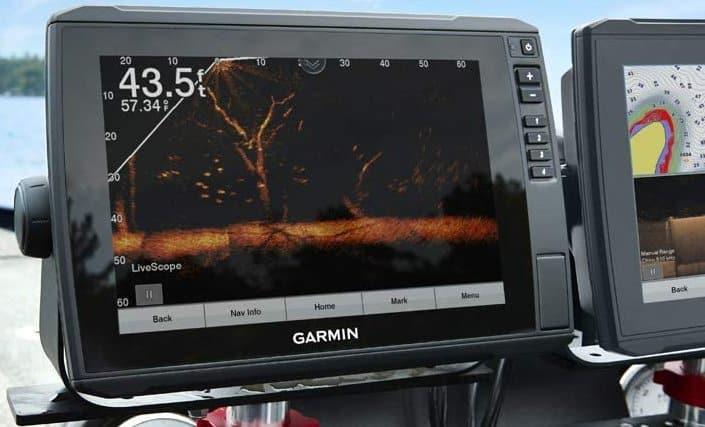 Garmin ECHOMAP Ultra 122sv - Panoptix Livescope LVS12