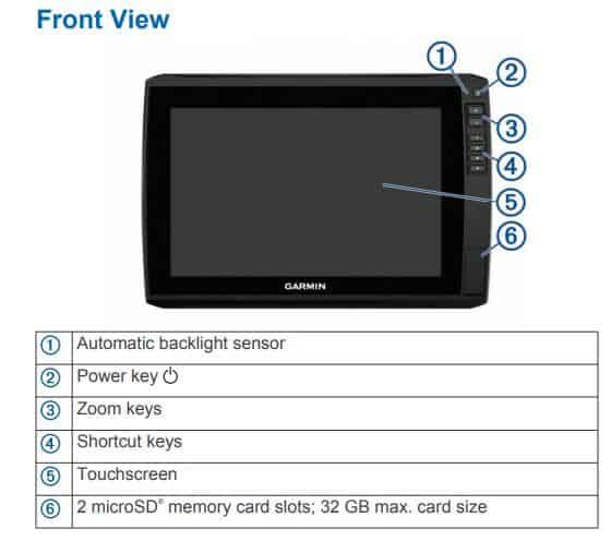 Garmin ECHOMAP Ultra 122sv - Screen Control
