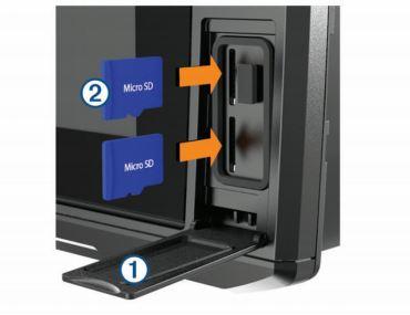 Garmin ECHOMAP Ultra 126sv - microSD Slots