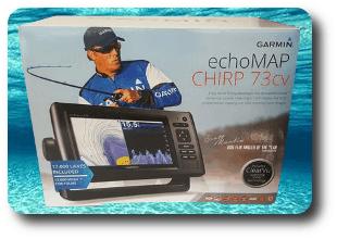 Garmin EchoMAP CHIRP 73cv- For Sale
