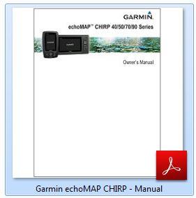 Garmin EchoMAP CHIRP 73cv - Manual