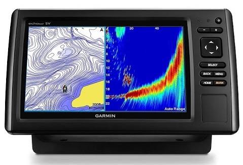 Garmin EchoMAP CHIRP 73cv - Panoptix LiveVu Forward Sonar