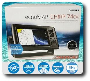 Garmin EchoMAP CHIRP 74cv- For Sale