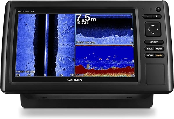 Garmin EchoMAP CHIRP 93sv - Split Screen Sonar