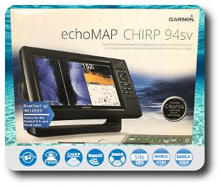 Garmin EchoMAP CHIRP 94sv- For Sale