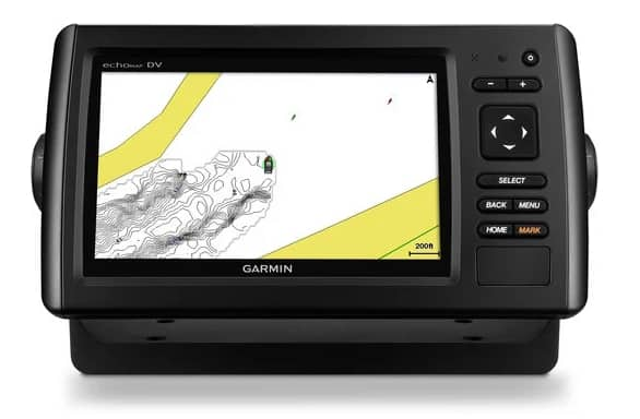 Garmin EchoMAP CHIRP 93sv - Quickdraw Contour Mapping
